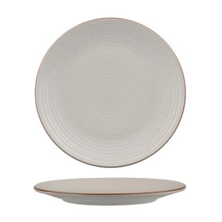 Picture of Zuma Mineral Round Plate Ribbed 265mm