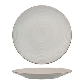 Picture of Zuma Mineral Round Plate Ribbed 310mm