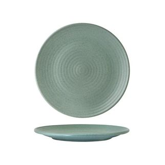 Picture of Zuma Mint Round Ribbed Plate 210mm