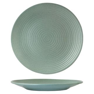 Picture of Zuma Mint Round Ribbed Plate 310mm