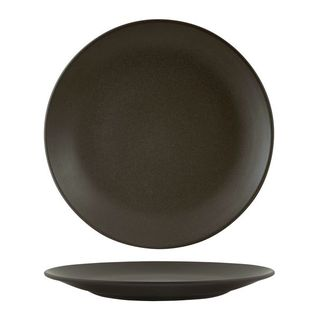 Picture of Zuma Round Coupe Plate Charcoal 285mm